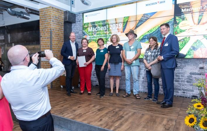 """Preisverleihung Machen! 2019 für """"Sieben Dörfer - eine Gemeinde"""""""